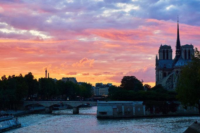 Paris 3 Tage Notre Dame