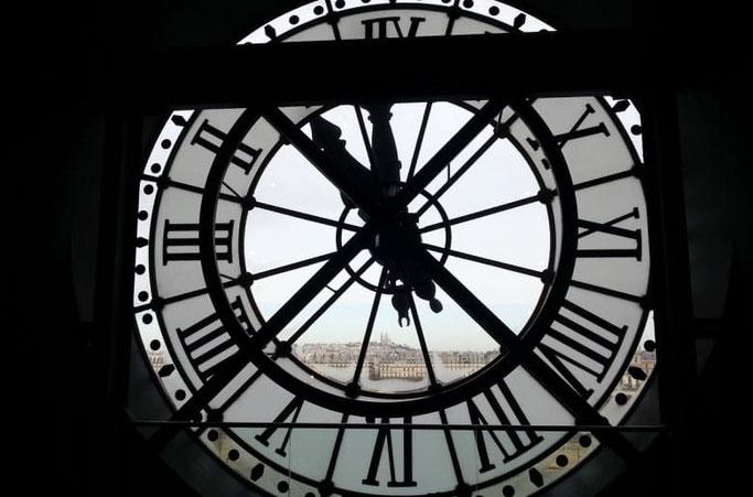 berühmte uhr paris Musee d'orsay