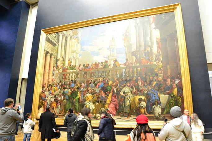 Louvre Gemälde - Hochzeit zu Kana