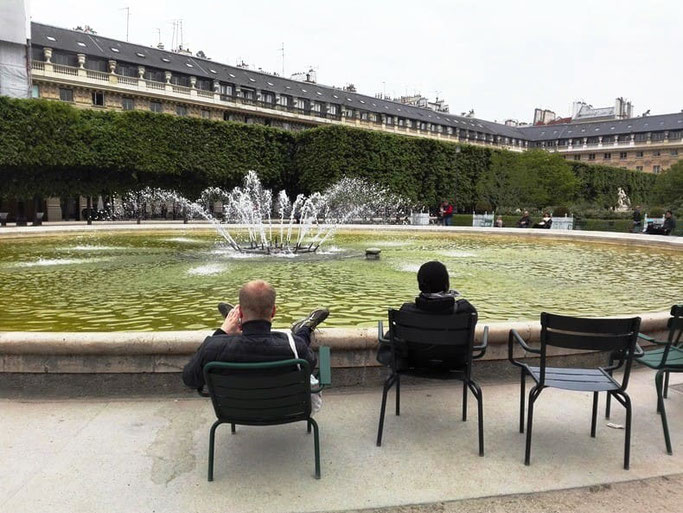 Palais Royal Brunnen