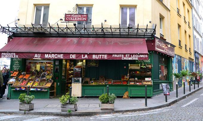 Montmartre Die fabelhafte Welt der Amelie