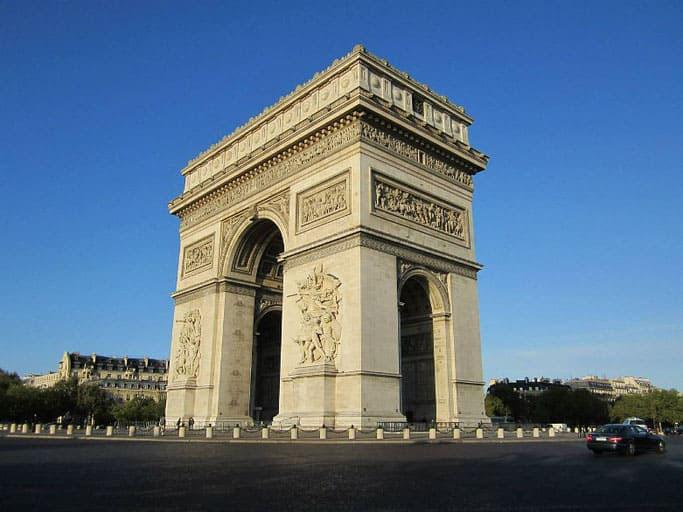 Triumphbogen Place Charles de Gaulle