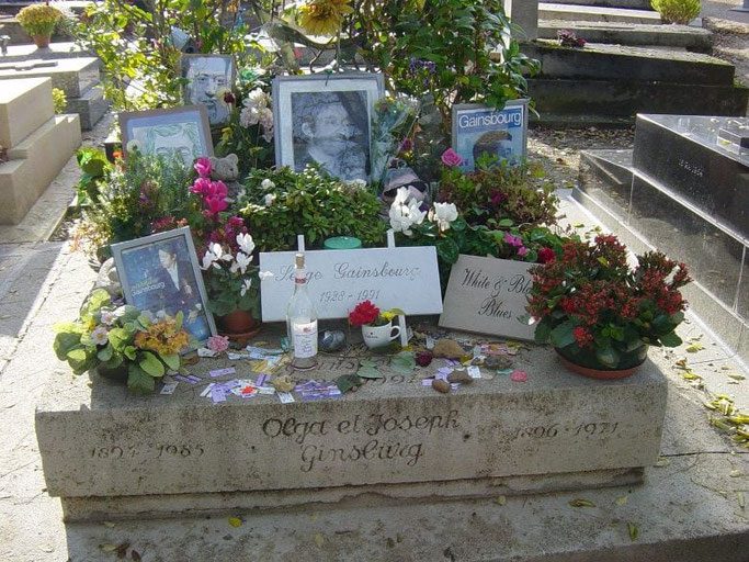 Friedhof Montparnasse Paris
