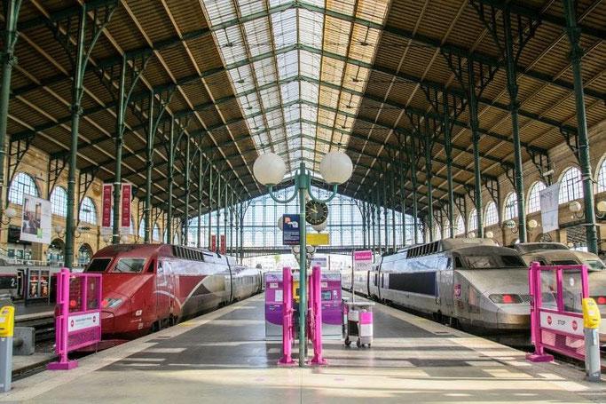 Paris Gare du Nord Thalys TGV