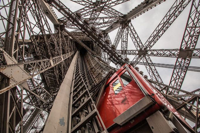 Eiffelturm Aufzug