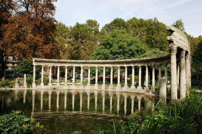 Parks in Paris Monceau