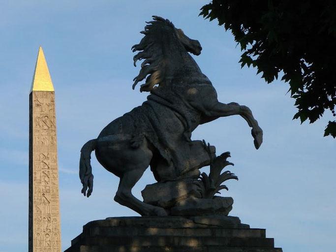Place de la Concorde Marly Horses