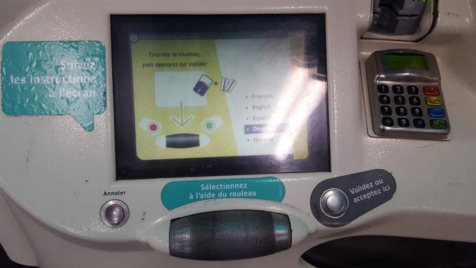 Paris Metro Ticketautomat alt