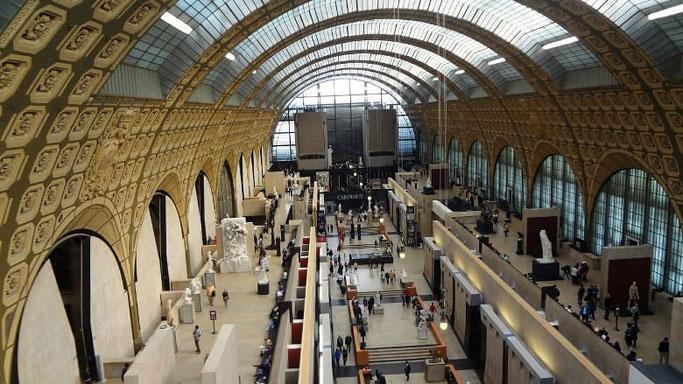 Musée d'Orsay mit dem Paris Museum Pass