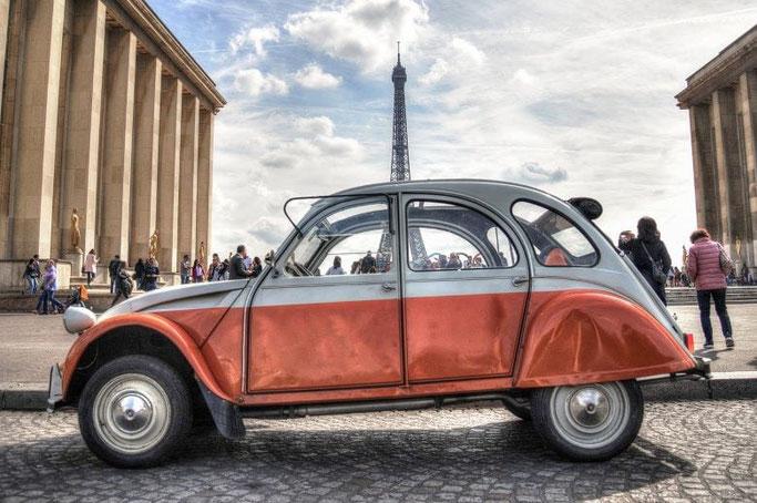 Stadtrundfahrt Paris Ente