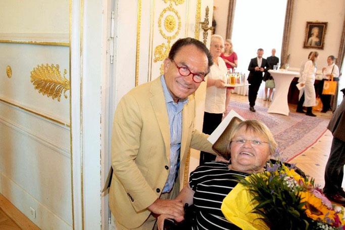 Prof. Dr. Georg Zanger mit Frau Theresia Haidlmayr