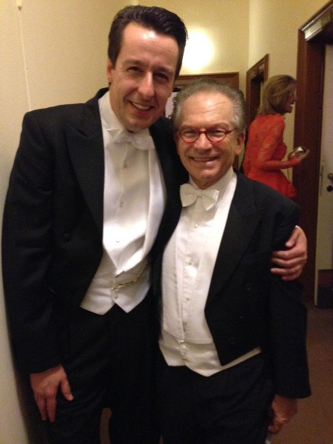 Dr. Georg Zanger gemeinsam mit Dr. Thomas Dänemark