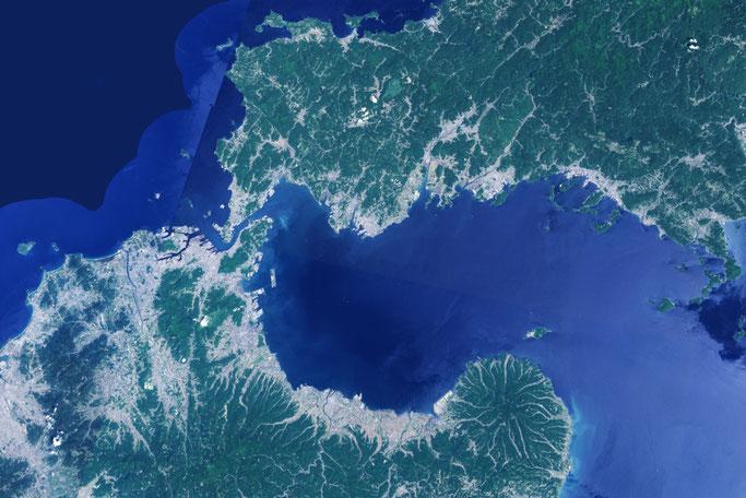 国土地理院の地図(周防灘)