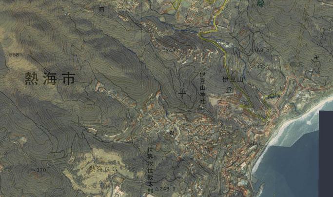 開発前の熱海市(写真は1979~1983年)
