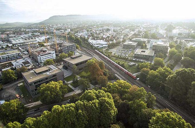Der Bildungscampus Heilbronn (Foto: Dieter Schwarz Stiftung gGmbH)