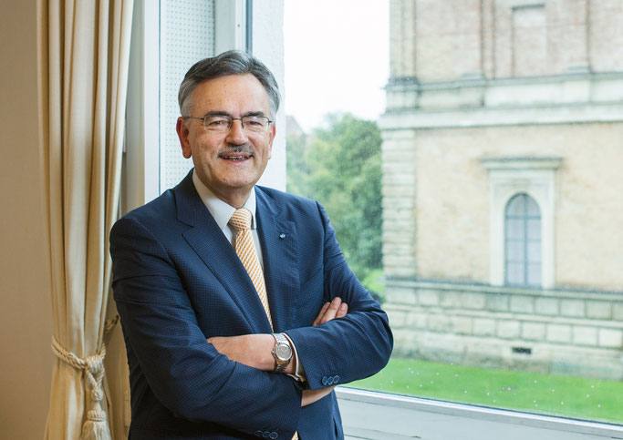 Der Chemiker Wolfgang Herrmann ist seit 1995 Präsident der Technischen Universität München. Foto: TU München