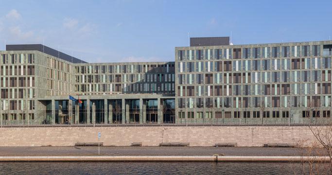 Das Berliner Dienstsitz des BMBF. Foto: Ansgar Koreng (weitere Angaben unten)