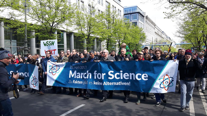 Foto: March for Science in Berlin am 22. April 2017 (Heike Mewis)