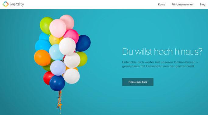 Foto: Screenshot von www.iversity.org/de