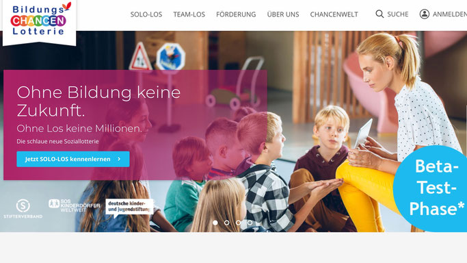 Foto: Screenshot der Lotto-Website