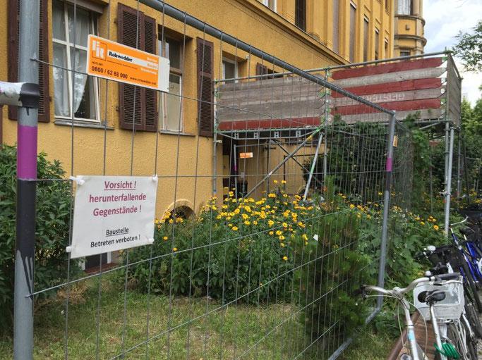 Baufällige Fichtenberg-Oberschule in Berlin. Foto: Jan-Martin Wiarda