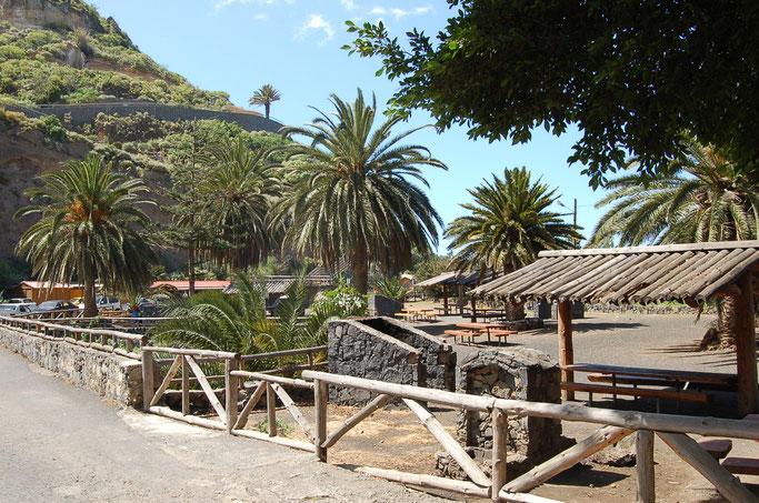 Grillplatz Barranco Ruiz