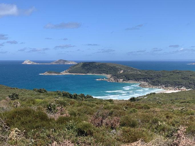 Views of Wilsons Prom National Park, Gippsland, Australia