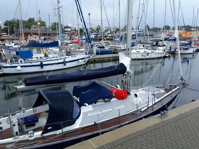 Kolobrzeg, Hafen, Segeln