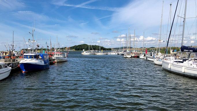 Thiessow Hafen