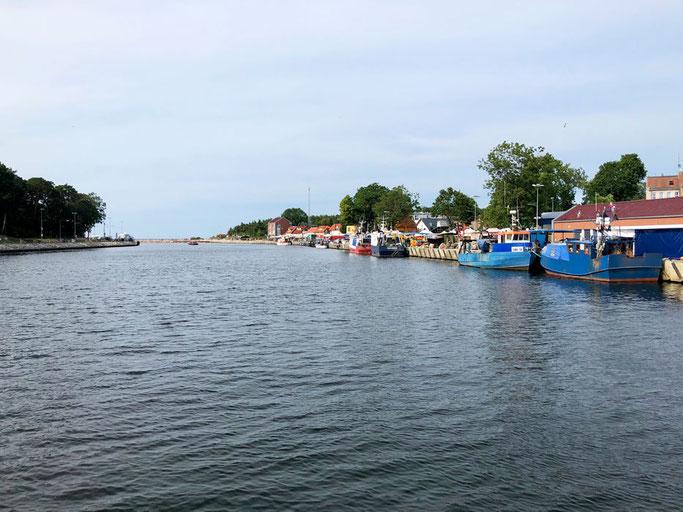Rega, Mrzezyno Hafen. Polen