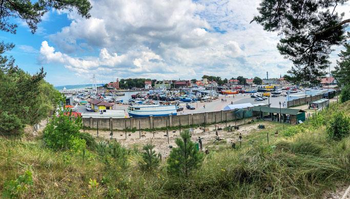 Fischerhafen von Ustka