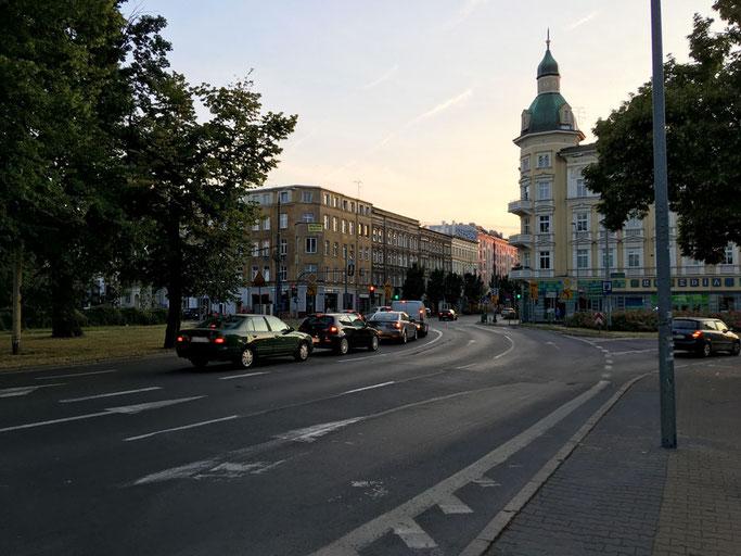 Plac Grunewaldzki, Stettin