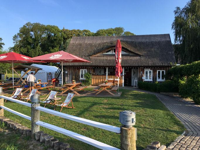 Hafenmeister, Bar und Küche im Hafen Krummin