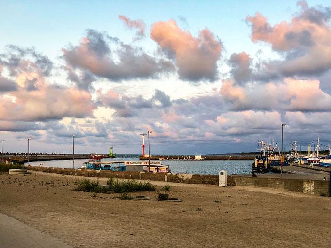 Einfahrt in den Hafen von Wladyslawowo