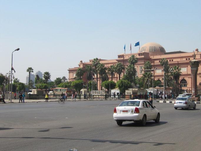Das Ägyptische Museum am Tahrir Platz