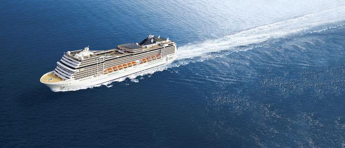 Deckpläne der MSC Magnifica |©MSC Kreuzfahrten