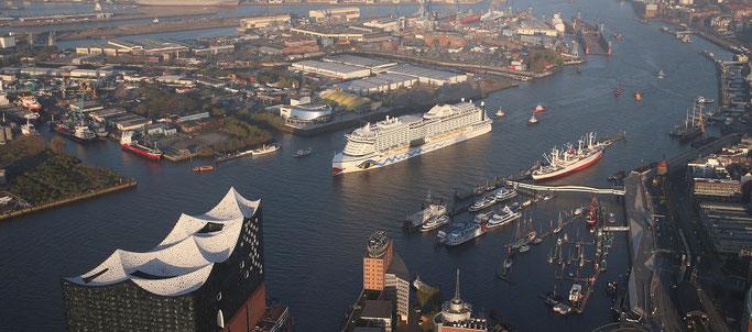 Deckpläne von AIDAprima | © AIDA Cruises