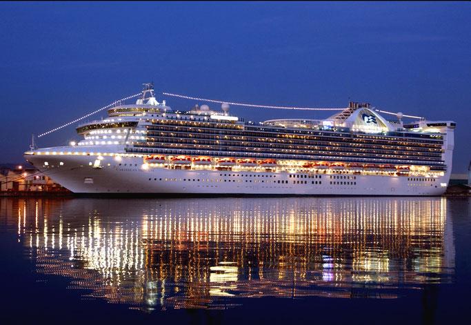Die Caribbean Princess geht 2020 nach Grönland // ©Princess Cruises