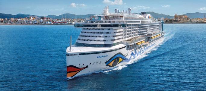 Deckpläne von AIDAperla | © AIDA Cruises