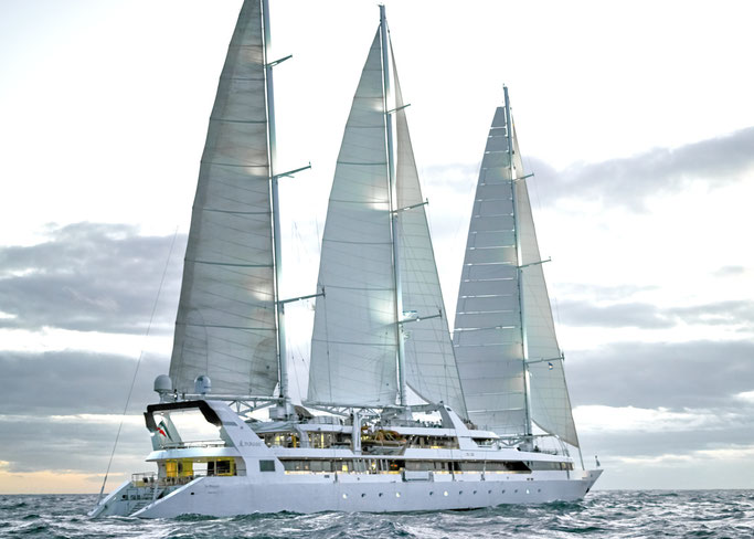 Le Ponant von PONANT Cruises |© Ponant – Philip Plisson