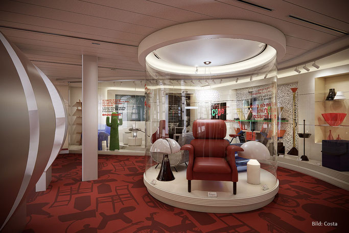 Costa Smeralda Code - Costa Design Museum