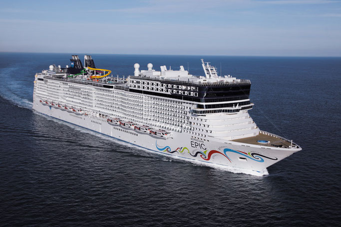 Norwegian Epic // © Norwegian Cruise Line