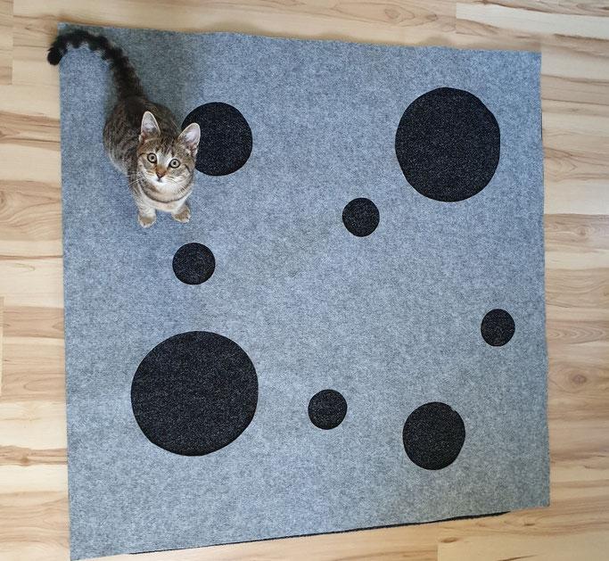 Der Katzenspielteppich CatMountain