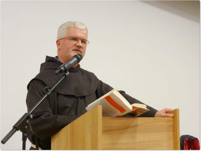 """P. Christoph zitiert aus seinem aktuellen Buch """"Sehnsucht Spiritualität"""""""