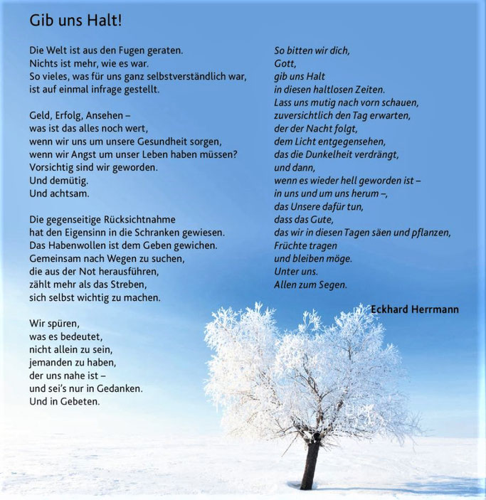 Gib uns Halt - Eckhard Herrmann, Gott macht Mut, Claudius Verlag, Foto: mulikov 123rf.com