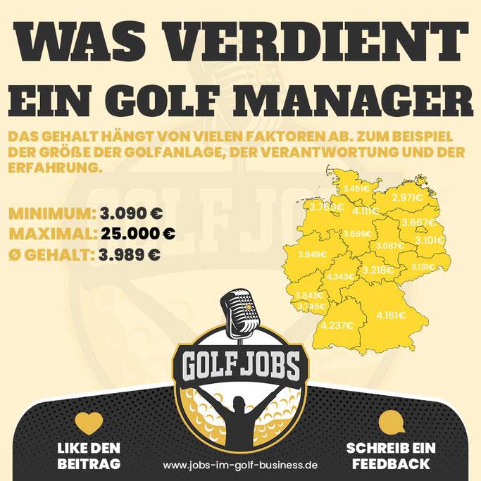 Gehalt vergleich - Was verdient ein Golf Manager netto brutto in Deutschland Schweiz Österreich niedersachsen bremen berlin schleswig holstein bayern