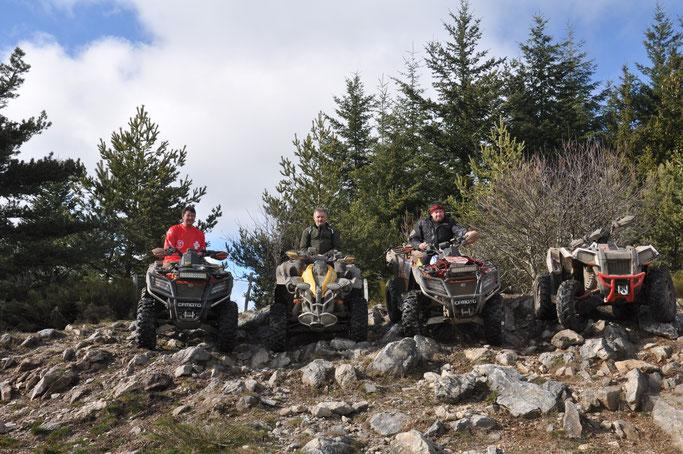 ATV Offroad Fahren