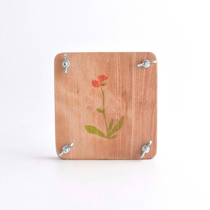 Presse à fleurs, articles bois, bois, ChloeDece, séchage de fleurs, fleurs séchées