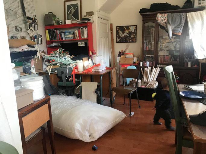 Minot's studio