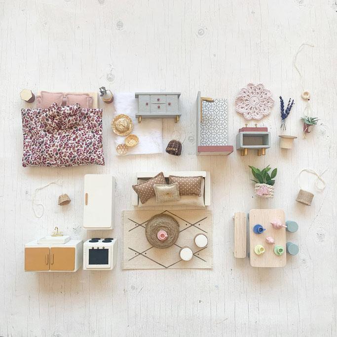 Etsy Qc, Relève, Le mini atelier, monde miniature, maison poupée personnalisée